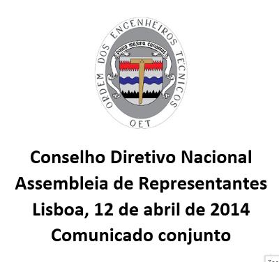 Comunicado CDN 2014-04-12