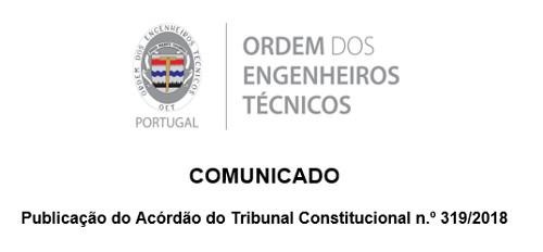 Comunicado Acórdão TC