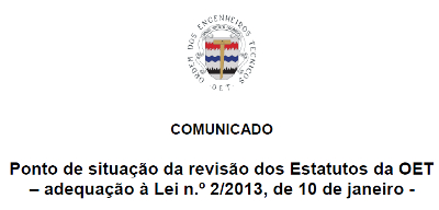 Comunicado20130729-RevisaoEstatutos