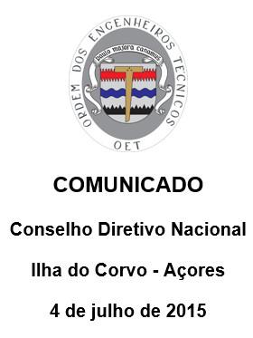 ComunicadoCDN20150704-Corvo