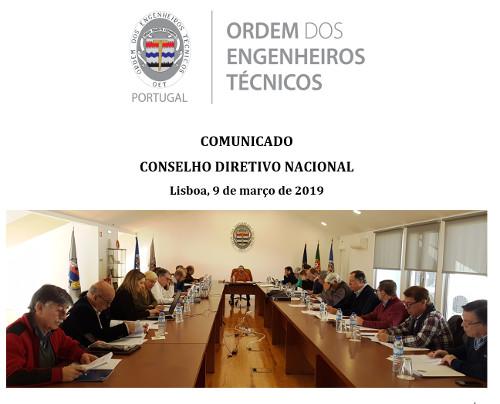 ComunicadoCDN20190309