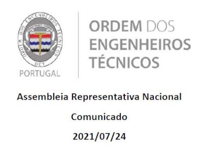 Comunicado ARN 2021-07-24