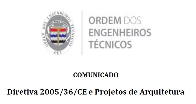 Comunicado Proje Arq