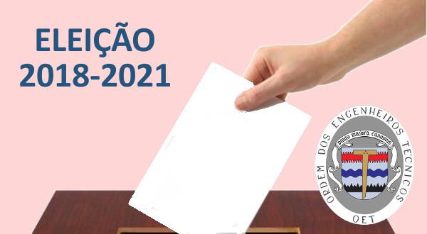 Eleição 2018 2021