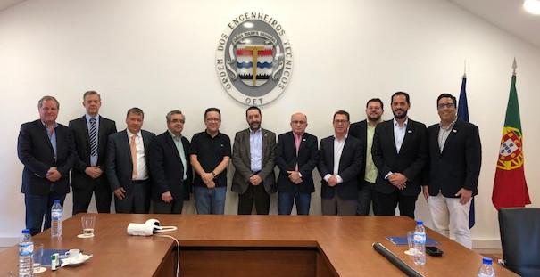 Reunião delegação Brasil